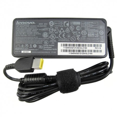 Original 65W Lenovo ThinkPad E550 20DF002YUS Adapter Charger